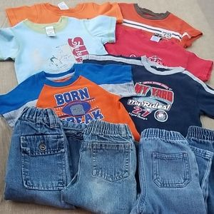 Size 18M Flawed Jeans & Tee Bundle